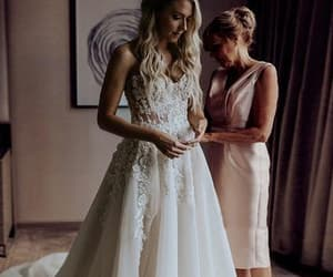 wedding dresses, lace wedding dresses, and cheap wedding dresses image