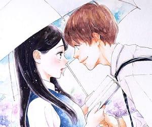 color, couple, and manga image