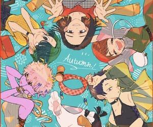 momo, mina, and boku no hero academia image