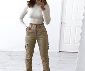 beige, cargo, and fashion image