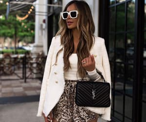 Balmain, blogger, and fashion image