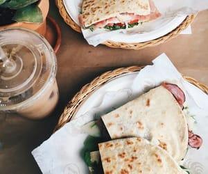 food, yummy, and coffee image
