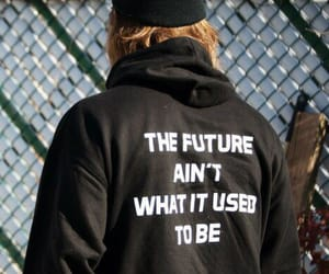 future, quote, and words image