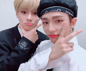 Chan, hwang hyunjin, and stray kids image