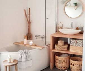 bathroom, cosy, and house image
