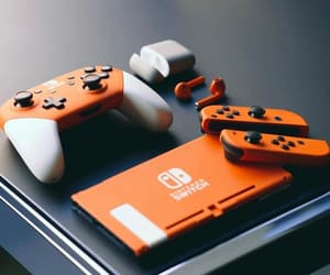 console, game, and gamer image
