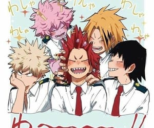 anime, kirishima, and boku no hero academia image