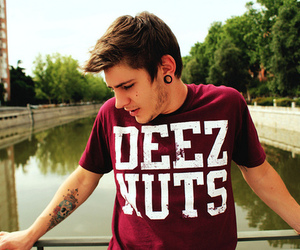 boy, tattoo, and deez nuts image
