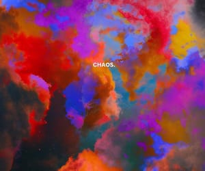 chaos, color, and wallpaper image