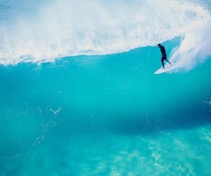 blue, color, and ocean image