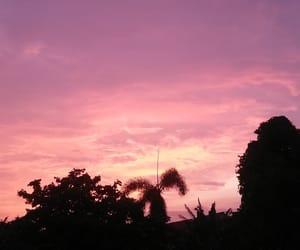 dusk, shadow, and sky image