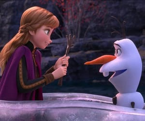 disney, olaf, and frozen 2 image