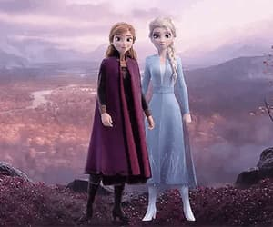 anna, film, and frozen 2 image