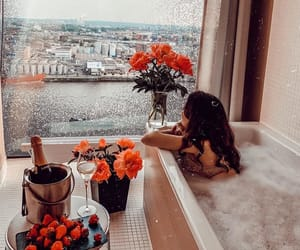 bath, chic, and drink image