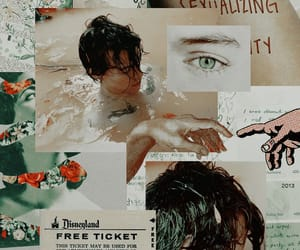 art, wallpaper, and Harry Styles image