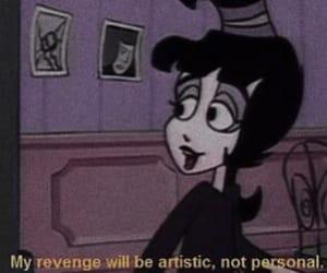 cartoon, revenge, and grunge image