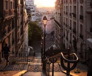 escaliers, montmartre, and paname image