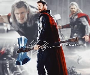 Avengers, chris hemsworth, and endgame image