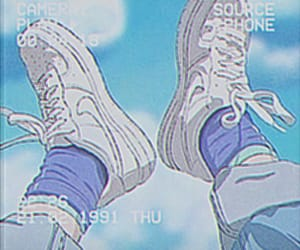 anime, aesthetic, and shoes image