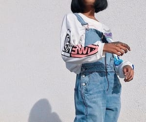 aesthetic, denim, and style image