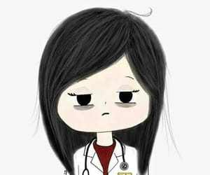 doctor, medicine, and art image