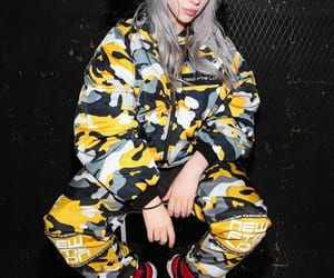 billie eilish and photoshoot image