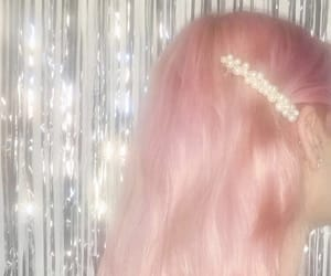 aesthetic and pink hair image