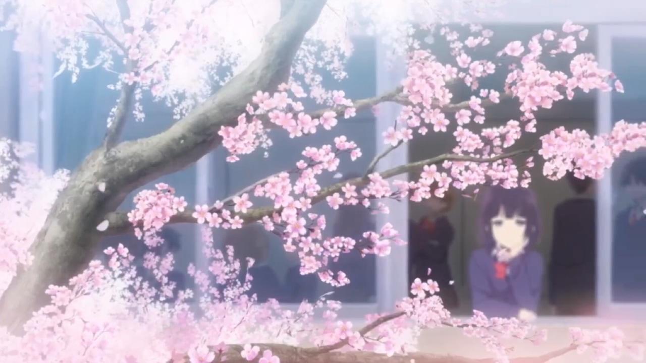 anime, kuzu no honkai, and flowers image