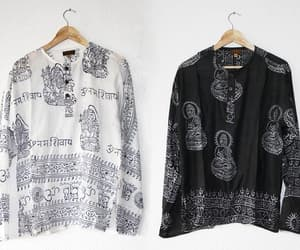 etsy, hippie shirt, and loose shirt image