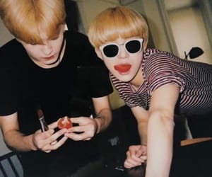 nct, jungwoo, and mark image