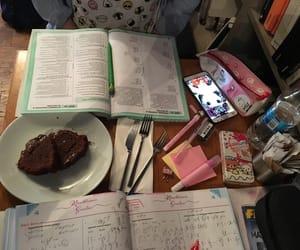 anime, cake, and chocolate image