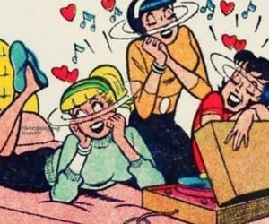 comic, vintage, and Archie image