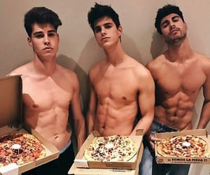 boys, foods, and pretty image