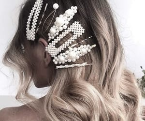 chic, fashion, and hair image