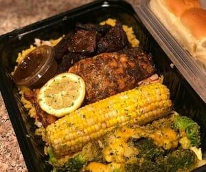 bread, broccoli, and corn image
