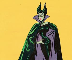 maleficent and pinup disney image