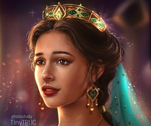 aladdin, disney, and princess jasmine image