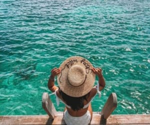 beach, goals, and ocean image