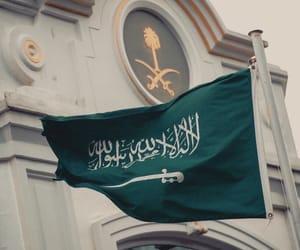 arab, flag, and السعوديةِ image