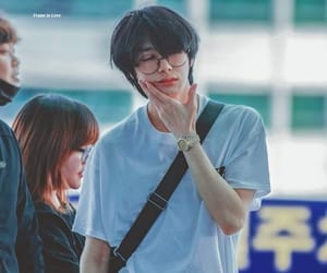 kpop, chae, and hyungwon image