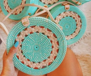 crochet bag, canvas bags, and woven bag image