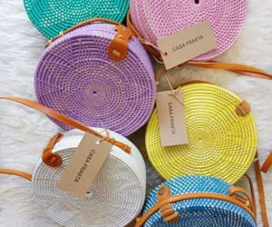 crochet bag, straw beach bag, and canvas bags image