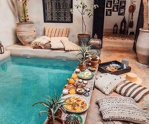 pool, decor, and food image