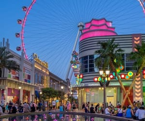 city, colorful, and Las Vegas image