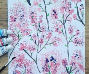 art, diy, and flowers image