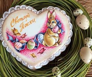 bunny, сладости, and easter image