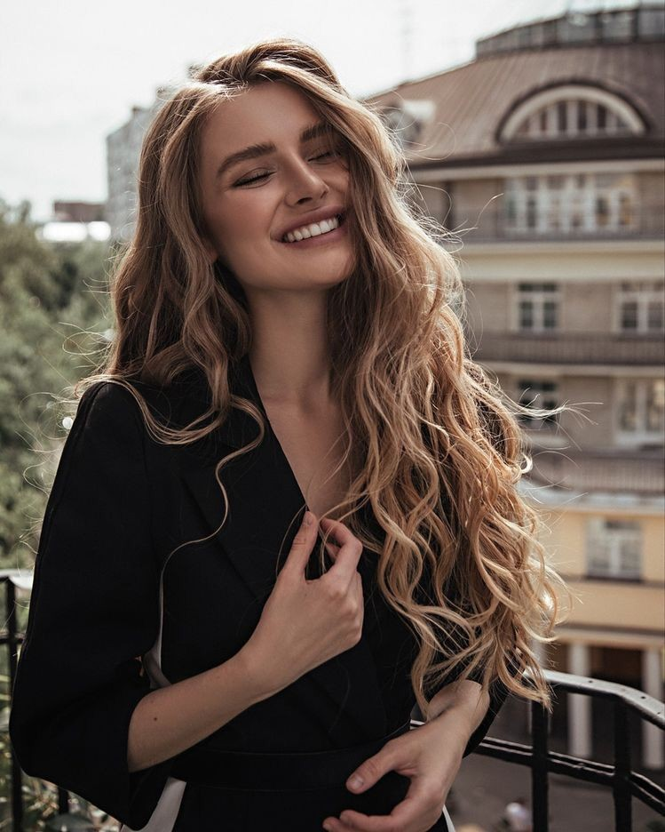 beauty, girl, and smile image