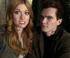 clary fray, jonathan christopher, and shadowhunters bts image