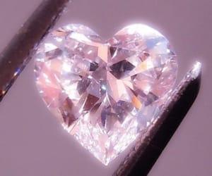 heart, diamond, and aesthetic image
