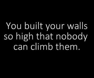 wall, quotes, and climb image